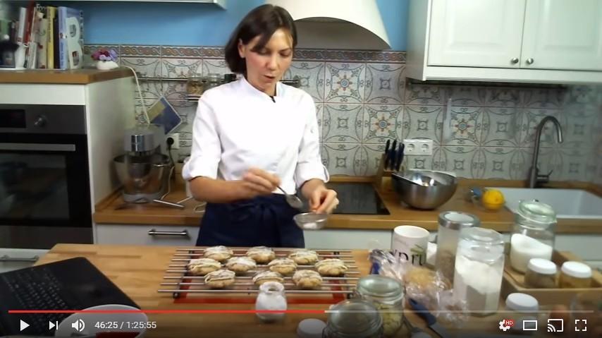 Онлайн мастер-класс «Домашние овсяные печенья с шоколадом» успешно прошел