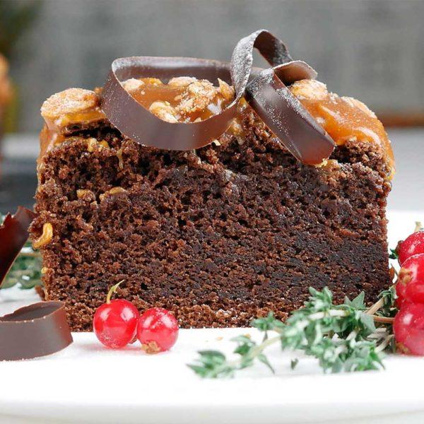 Торт «Брауни на темном пиве»