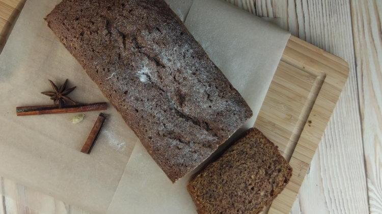 Банановый хлеб от Мистера Чёрча
