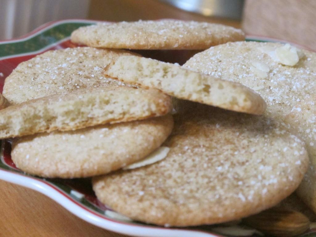 Бисквитно-миндальные печенья с корицей