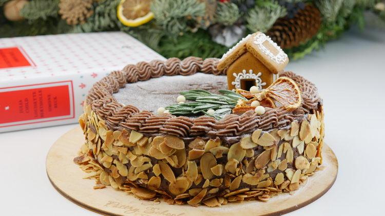 Шоколадный торт от Джулии Чайлд [Reine De Saba]