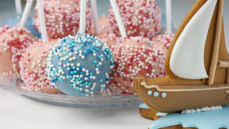 Кейк-попсы или популярные тортики на палочке