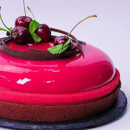 Муссовый торт «Вишневый Дайкири»