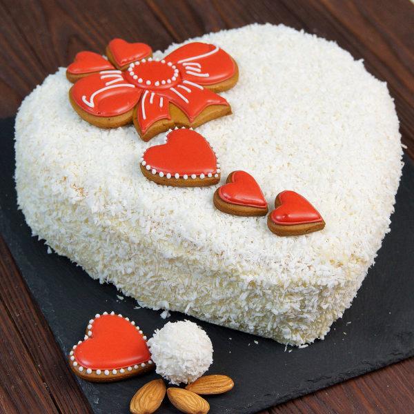 Нежный торт «Рафаэлло»