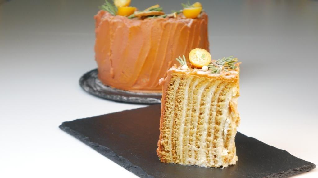 История создания торта «Медовик»