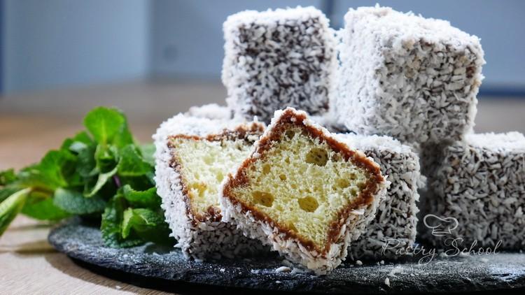 Пирожные Ламингтоны — маленький кусочек счастья с другого полушария