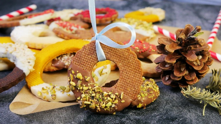 Вкуснейшие Новогодние печенья