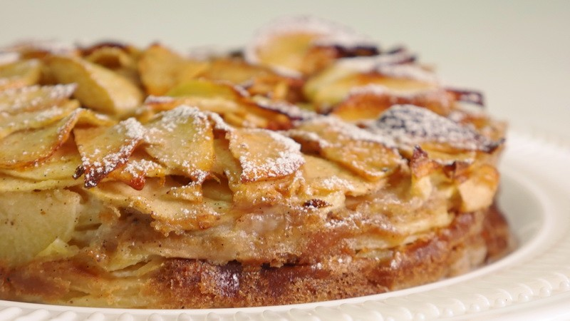 Яблочный торт Mille Mele