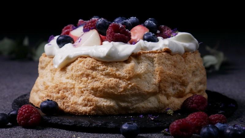 Торт «Пища Ангела»- сама нежность